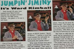 Ward-Kimball-Animator-Jiminy-Cricket-Imagineering-Disney-Store-Newsletter-1992