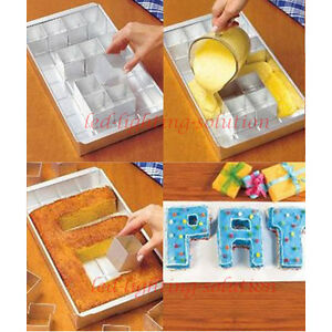 letter cake pans any alphabet letters number cake tin pan create decorating 22786