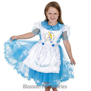 CK208-Disney-Daisy-Chain-Alice-in-Wonderland-Dress-Child-Girl-Book-Week-Costume