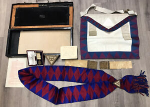 Masonic-Medal-silver-Hallmarked-Masonic-Royal-Arch-Companions-Jewel-FREEBIES