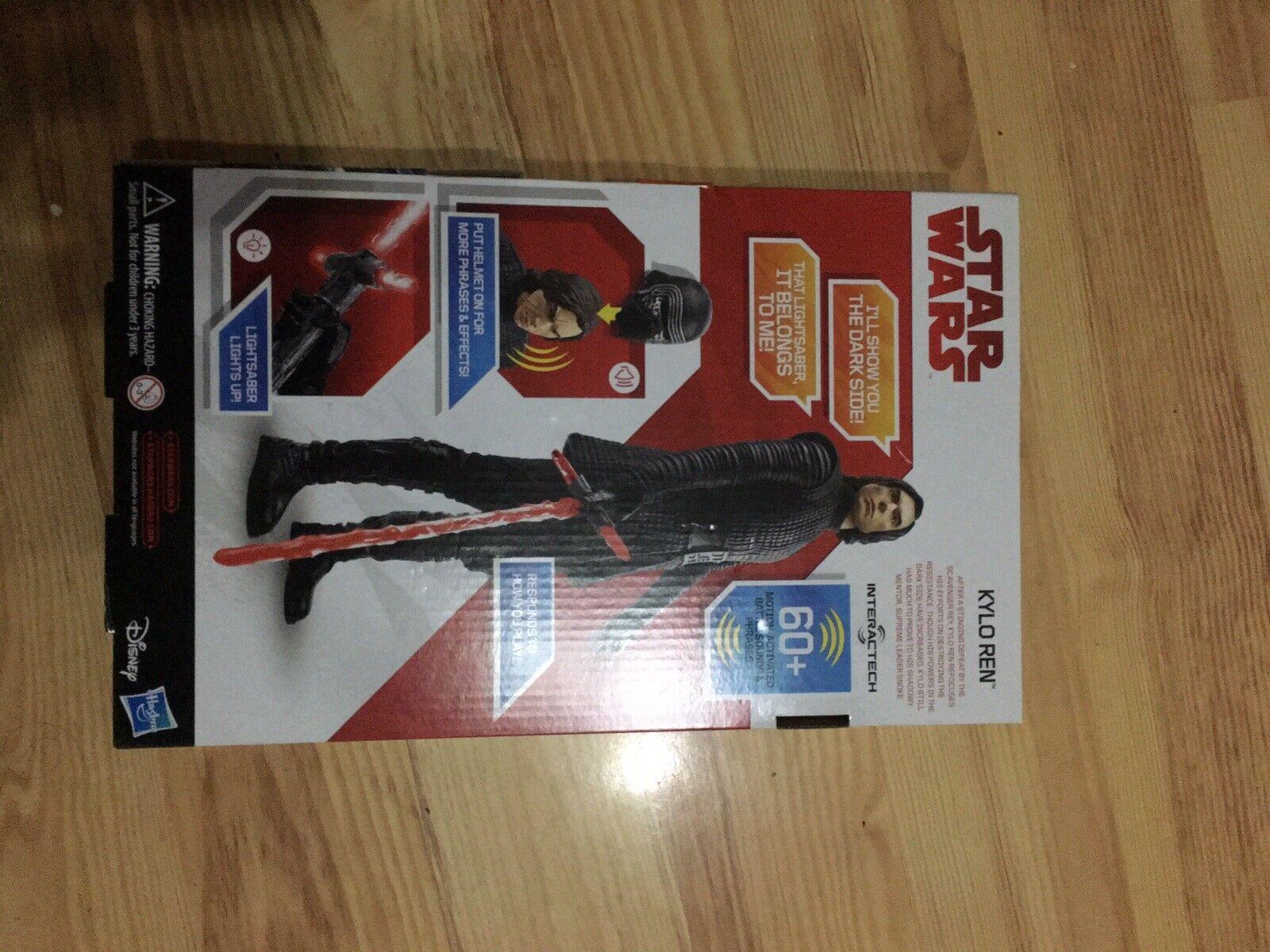 Star Star Star Wars E8 Kylo Ren Interactech Figure 62c400