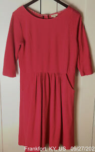 Matilda-Jane-Women-s-Dress-Size-Large-Fit-And-Flare-Pockets-Coral-Pink