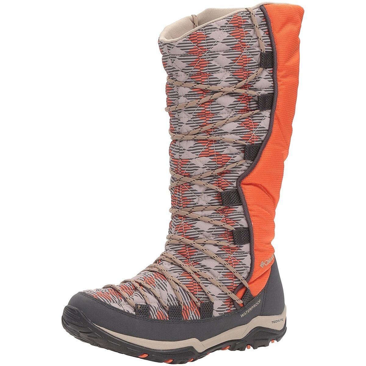 Columbia LOVELAND OMNI-HEAT PRINT BOOT Waterproof Women Winter Boots NEW