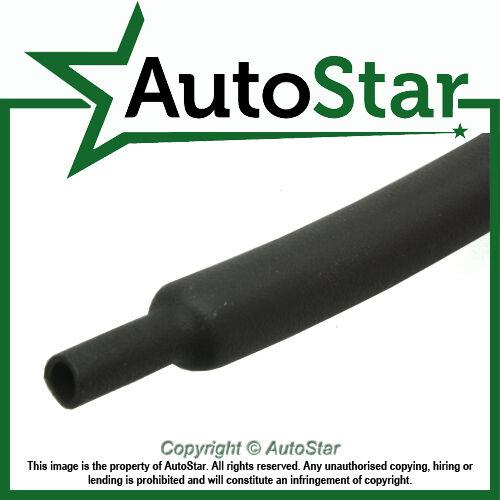 1.6mm Black Heat Shrink Heatshrink Tubing - PER METRE