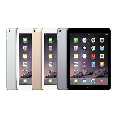 Apple iPad Air 2 Wifi Only Gold, Gray or Silver