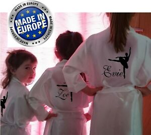 53e1a88c94 Image is loading Children-039-s-Personalised-Dressing-Gown-Robe-Satin-