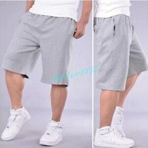 Mens-Loose-Baggy-Hip-hop-Sports-Casual-Shorts-Pants-Trousers-Summer-Beach-Hot