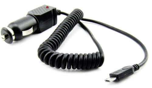 Cavo di ricarica cellulare auto camion auto 12-24v con Micro USB connettore accendisigari