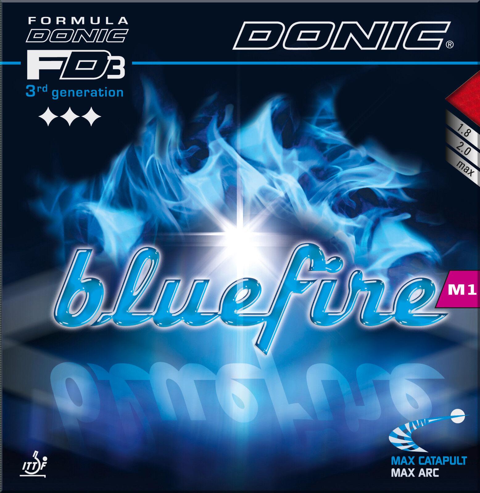 DONIC DONIC DONIC Blaufire M1 1,8mm schwarz NEU   OVP 56c750