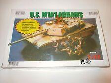 US Army M1A1 Abrams Panzer tank Armee, mit Elektro-Motor, Belmonte in 1:48 RARE!