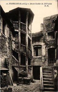 CPA RICHELIEU (I.-et-L.) - Ancien Escalier du XVI siécle (227066)