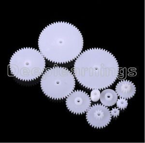 57 styles Plastic Gears All Module 0.5 Robot Parts for DIY Arduino NEW CK