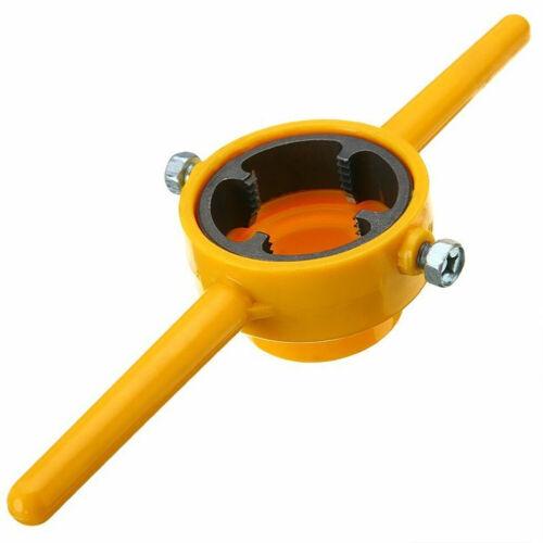 6Pcs 1//2 3//4 1 Inch PVC Thread Tool Maker Easy Apply Pipe Threader Screw Die Set
