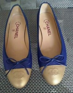 AUTHENTIC CHANEL BALLERINA FLATS SHOES