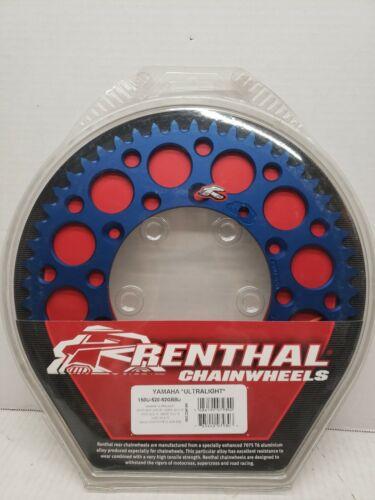 Renthal Chainwheel 150U-520-52GBBU Yamaha Ultralight Rear Sprocket  Blue 52T NEW