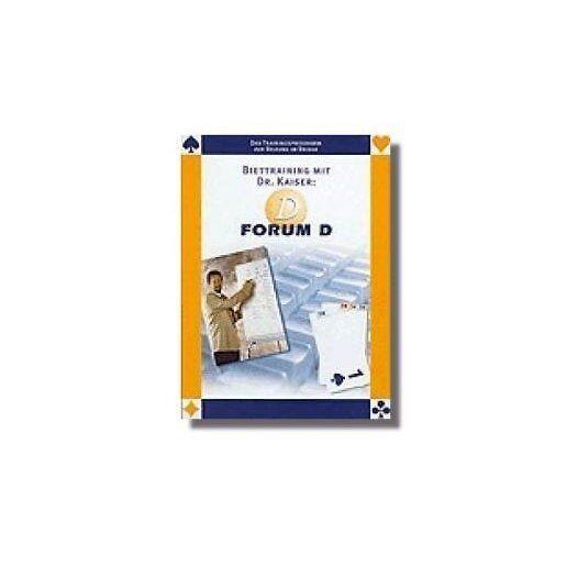 Bridgetraining mit Dr. Kaiser  Forum D und D Plus, Q- Plus Bridge Software- NEU