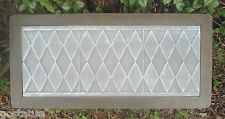 "Gostatue diamond bench top 3/16""ths abs plastic concrete mould  bench mold"