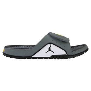 Detalles de Nike Jordan Hydro 4 Retro Slipper Badelatschen Herren Grau 532225 007