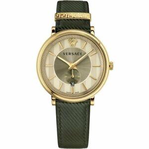 Versace-Uhr-Uhren-Herrenuhr-VBQ030017-V-CIRCLE-Swiss-Made-Markenuhr-NEU