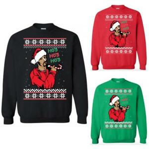 Snoop Dogg Christmas.Details About Snoop Doggy Dogg Ho S Sweatshirt Ugly Christmas Sweater Doggfather Doggystyle