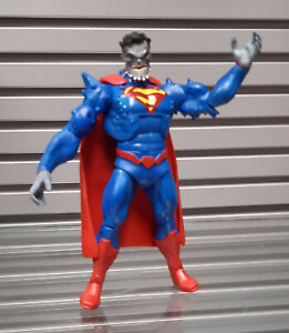 Dc Comics Doomsday Superman Hybrid 6 Toy Figure Rare Justice