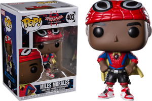 Into The Spider-Verse Spider-Man Miles Morales Pop Vinyl Figure