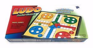 25 X 25 Cm Magnetic Ludo Traditional Board Brains Game With FREE Shipping