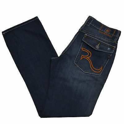 Rock   Republic Bootcut Jeans Henlee Stonewashed Blue New Mens Jean Denim  New  b80be0c8a