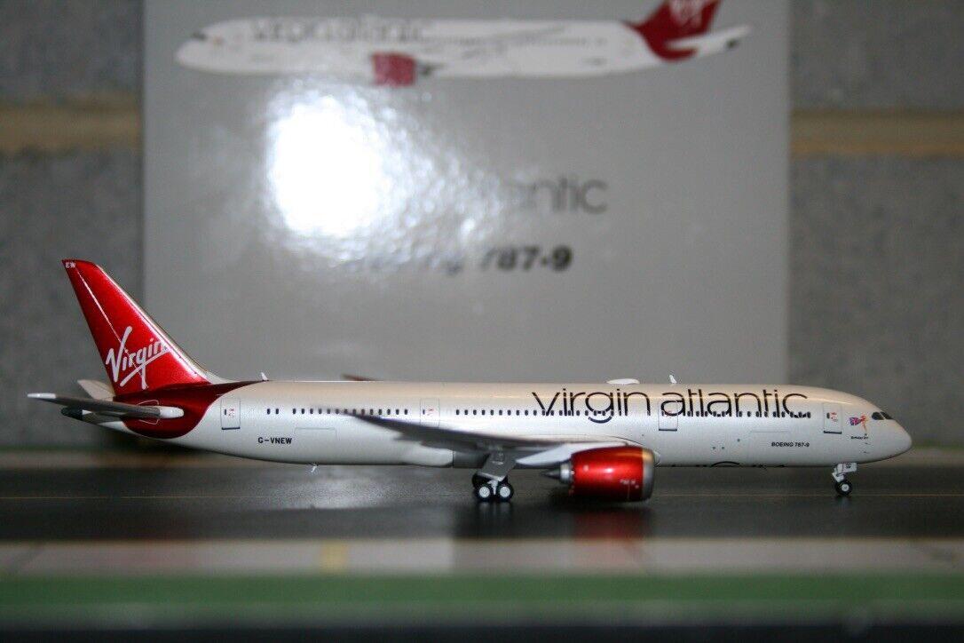 gran descuento Gemini Jets 1 400 Virgin Atlantic Boeing 787-9 G-vnew G-vnew G-vnew (gjvir 1444) Fundición Modelo  estar en gran demanda