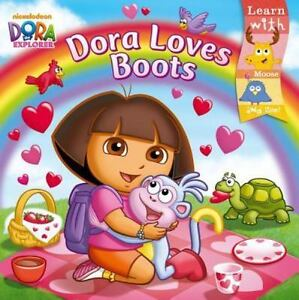 Details about Dora Loves Boots (Dora the Explorer) by Inches, Alison