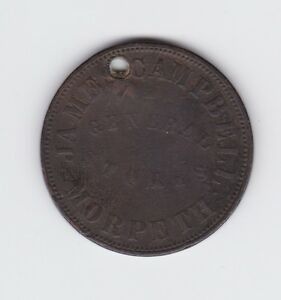 Circa-1858-Australia-James-Campbell-Morpeth-General-Stores-One-Penny-Trade-Token
