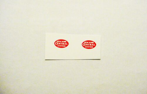 LIONEL 2344-54 NYC AA F-3 NOSE WHITE LETTER//CLEAR WATERSLIDE  4 DECAL SET LOOK!