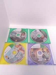3-GTA-XBOX-360-Disc-Only-Games-Cleaned-Tested-amp-Working-Fast-Ship