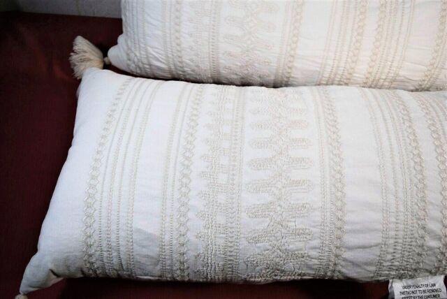 Harriet Bee Clayton Handmade Whale 100 Linen Cotton Blend Throw Pillow For Sale Online Ebay