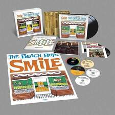 "THE BEACH BOYS ""SMILE"" SUPER DELUXE EDITION BOX SET 5 CD + 2 LP + 2 7""+ BOOK NEW"