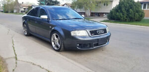 Audi RS6 - all-wheel drive, turbo V8, heated Recaro seats