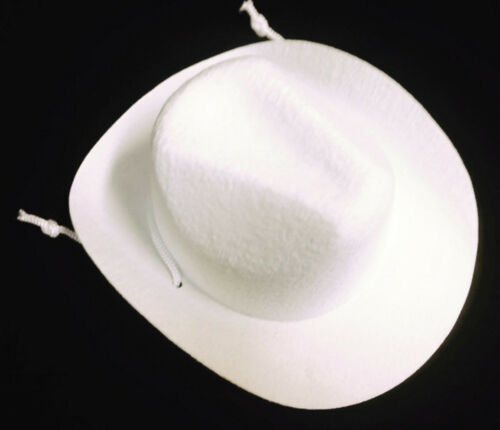 White Western Cowboy Hat Accessories fits 18 inch American Girl Doll Clothes