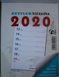 Abreißkalender 2020