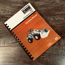 Case W36 Articulated Loader Operators Manual Owners Book Sn Prior To 17754000