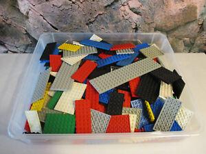C-13-LEGO-30-Platten-Bauplatten-Sammlung-Konvolut-von-CITY-BIS-STAR-WARS-kg