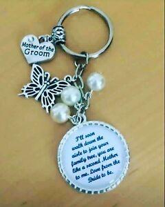 Wedding-Mother-of-the-Groom-verset-2-porte-cles-Souvenir-Faveur-Cadeau-Toute-Couleur-Perles