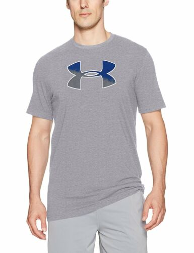 Under Armour Mens GRADIENT BIG Logo Short Sleeve 4 Colors