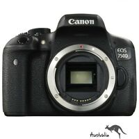 Canon  EOS EOS 750D 24.2 MP Digital SLR Camera - Black (Body Only)