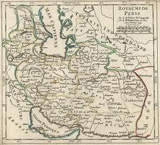 PERSIEN IRAN Landkarte Vaugondy 1749 kolorierter Kupferstich schönes Original