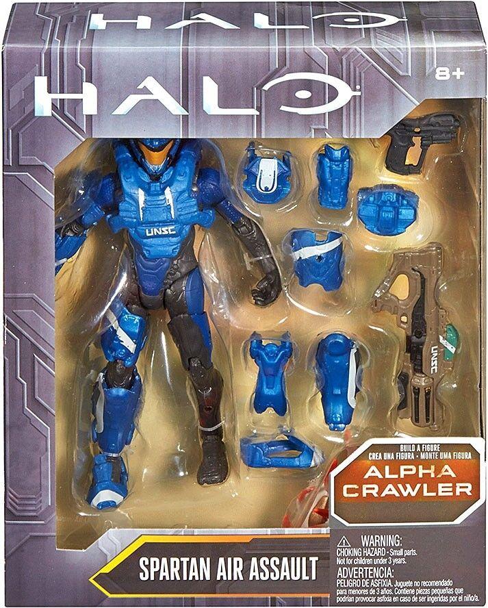 Halo Alpha Crawler Series Spartan Air Assault Assault Air Action Figure ceaf07