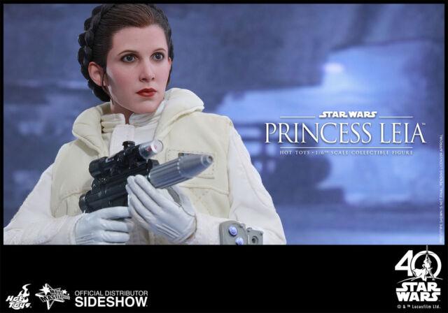 STAR WARS~V~ESB~PRINCESS LEIA~SIXTH SCALE FIGURE~MMS423~HOT TOYS~SIDESHOW~MIB