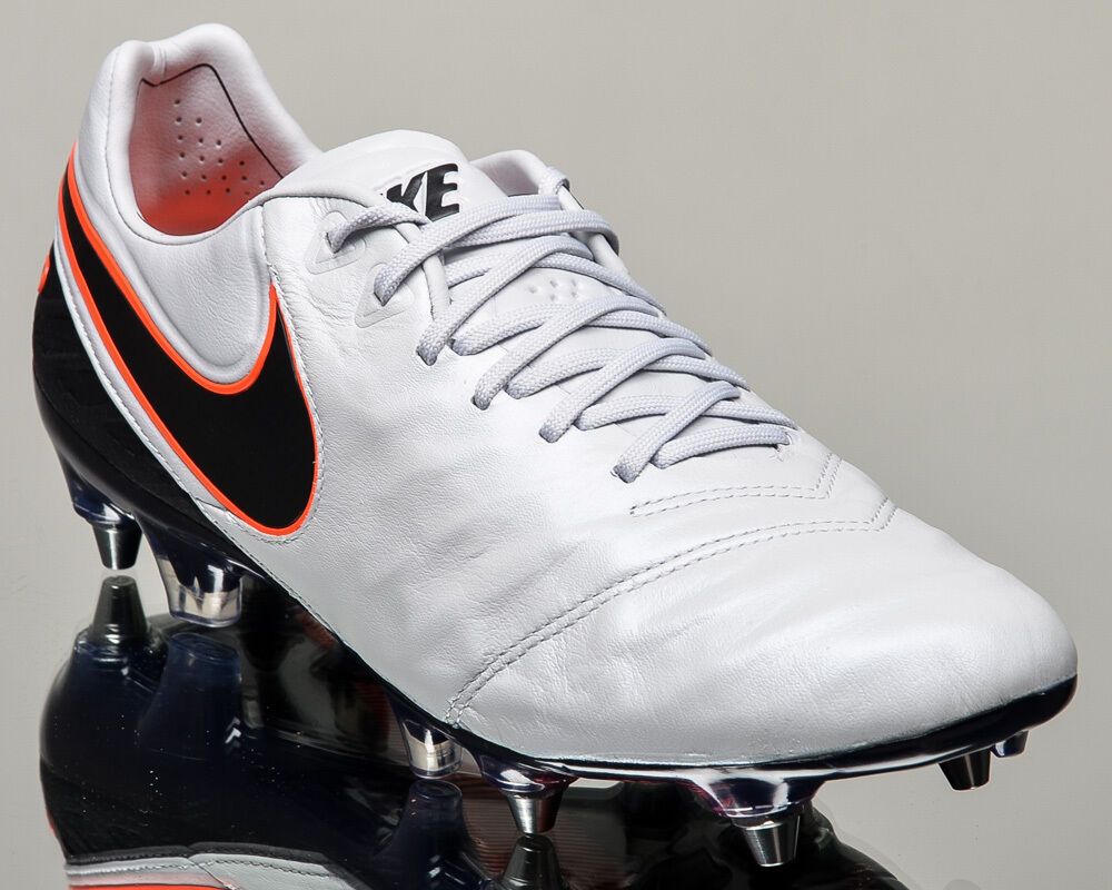 Nike Tiempo Legend VI SG-PRO 6 Hommes soccer cleats football NEW pure platinum