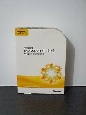 Microsoft Expression Studio 4 Web Professional For Sale