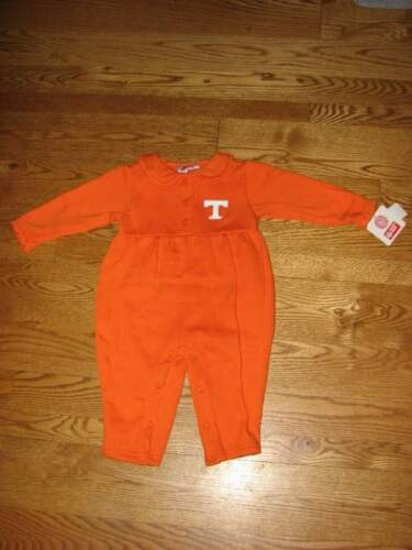 NEW Tennessee Vols Volunteers Baby Girls Romper Size 18M 18 Mo Coverall Creeper