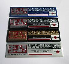 YOSHIMURA JAPAN Exhaust Aluminium plate emblem sticker Set of 4